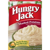 Hungry Jack Mashed Potatoes Food Product Image