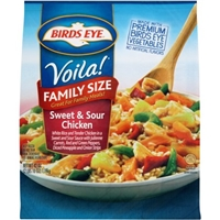 Birds Eye Voila! Sweet & Sour Chicken Stir Fry Family Size Food Product Image