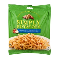 Crystal Farms Simply Potatoes O'Brien Hash Browns Food Product Image