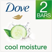 Dove Go Fresh Cool Moisture Beauty Bar with Cucumber & Green Tea Scent - 2 CT Food Product Image