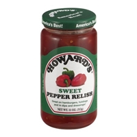 Howard's Sweet Pepper Relish Food Product Image