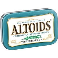 Altoids Wintergreen Mints Food Product Image