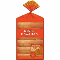 King's Hawaiian Hot Dog Buns Original Hawaiian Sweet - 6 CT Food Product Image