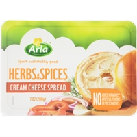 Arla Herbs and Spices Cream Cheese Spread Food Product Image