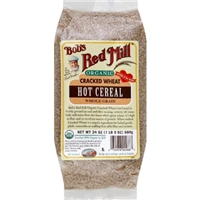 Bob's Red Mill Organic Cracked Wheat Hot Cereal Food Product Image