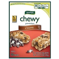 Spartan Granola Bars Chewy, S'mores Food Product Image
