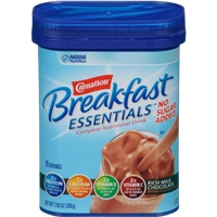 Carnation Breakfast Essentials No Sugar Added Chocolate Drink Food Product Image