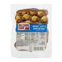 Hillshire Farm Beef Lit'l Smokies Beef Smoked Sausage Food Product Image