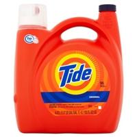 Tide He Original Scent Liquid Laundry Detergent 150 Fl Oz Food Product Image