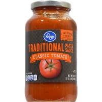 Kroger Traditional Spaghetti Sauce Food Product Image