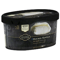 Private Selection Ice Cream Double Vanilla Food Product Image