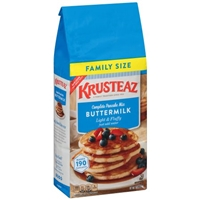 Krusteaz Super Size Buttermilk Pancake Mix Food Product Image