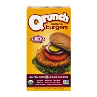 Qrunch Quinoa Burgers Food Product Image