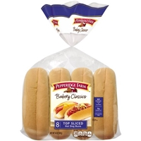 Pepperidge Farm Bakery Classics Top Sliced Hot Dog Buns - 8 CT Food Product Image
