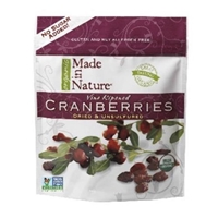 Made in Nature Organic Dry Cranberries Food Product Image