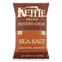 Kettle Brand Potato Chips Sea Salt Food Product Image