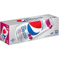Diet Pepsi Wild Cherry - 12 CT Food Product Image