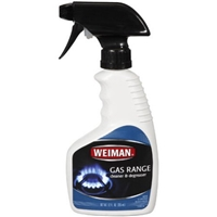 Weiman Gas Range Cleaner and Degreaser Food Product Image
