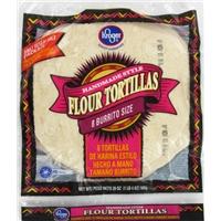 Kroger Fresh Burrito Tortillas 8 Count Food Product Image