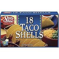 Shurfine Taco Shells 18 Ct Food Product Image