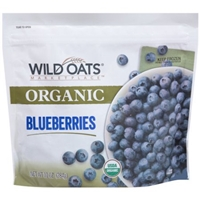 Wild Oats Marketplace Organic Frozen Blueberries, 10 oz Food Product Image