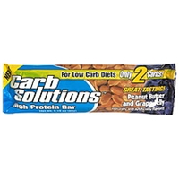 Carb Solutions High Protein Bar Peanut Butter And Grape Jelly Food Product Image