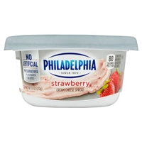 Philadelphia Cream Cheese Strawberry Food Product Image