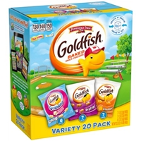 Pepperidge Farm Goldfish Baked Snack Crackers Variety Pack - 20 CT Food Product Image