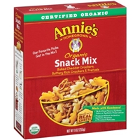 Annie's Homegrown Organic Snack Mix Food Product Image