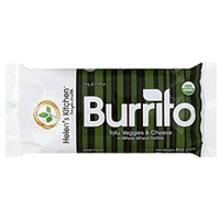 Helen's Kitchen Burrito Tofu, Veggies & Cheese Food Product Image