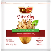 Ore-Ida French Fries Simply Country Style Olive Oil And Sea Salt Food Product Image