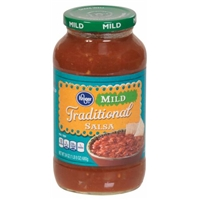 Kroger Traditional Salsa - Mild Food Product Image