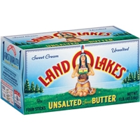 Land O'Lakes Butter Unsalted Sweet - 4 CT Food Product Image