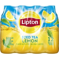Lipton Iced Tea Lemon - 12 PK Food Product Image