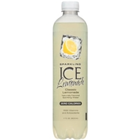 Sparkling Ice Lemonade Zero Calories Classic Lemonade Food Product Image