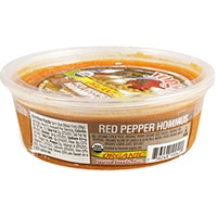 Yorgo's Organic Dip & Spread Roasted Red Pepper Hommus Food Product Image