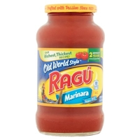 Ragu Old World Style Marinara Pasta Sauce Food Product Image