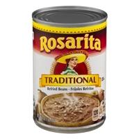 Rosarita Traditional Refried Beans Food Product Image