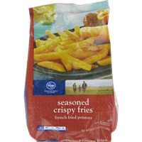 Kroger Seasoned Crispy Fries Food Product Image