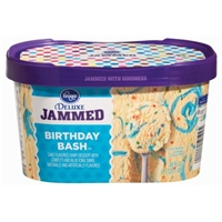 Kroger Deluxe Jammed Birthday Bash Ice Cream Food Product Image