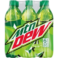Mtn Dew - 6 Pk Food Product Image