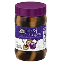 Shurfine Grape Jelly & Peanut Butter Pb&J Stripes Food Product Image