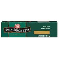 Shurfine Pasta Thin Spaghetti Food Product Image