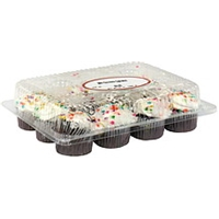 Peapod Mini Chocolate Cupcakes Food Product Image