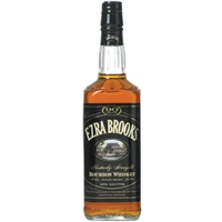 Ezra Brooks 90 Proof Bourbon Whiskey Food Product Image