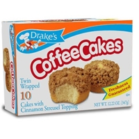 Drake's Coffee Cakes - 10 CT Food Product Image