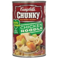 Campbell's Chunky Healthy Request Chicken Noodle Soup Food Product Image