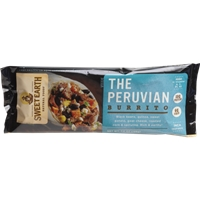 Sweet Earth Peruvian Burrito Food Product Image