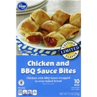 Kroger Chicken and BBQ Sauce Bites Food Product Image