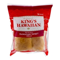 King's Hawaiian Rolls Original Hawaiian Sweet - 4 CT Food Product Image